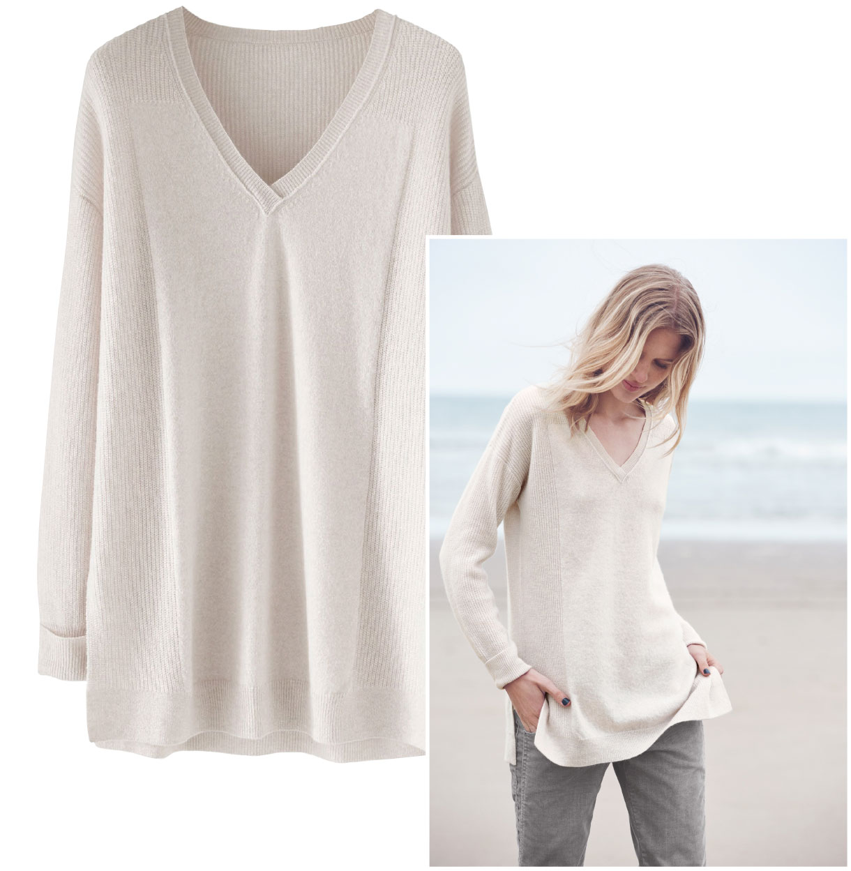 Irma Cashmere Sweater