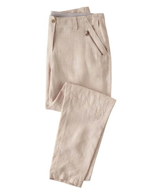 Nettie, 100% Linen Trousers